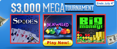 $3000 mega tournament